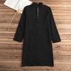 Chemise noir longue