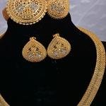 Dubai-arabe-Nigeria-ensembles-de-bijoux-pour-fille-femmes-mari-e-couleur-or-nuptiale-mariage-bijoux