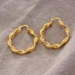 WANDO-boucles-d-oreilles-africaines-pour-femmes-filles-boucles-d-oreilles-torsad-es-rondes-thiopiennes-bijoux