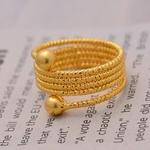 Bagues-de-perles-de-couleur-or-24K-cadeaux-de-mari-e-africaine-pour-femmes-anneau-en