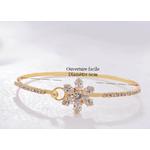 Bracelet plaqué or classique