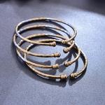 Bracelet ouvert mince (2)