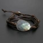 Bracelet pierre de lune cuire