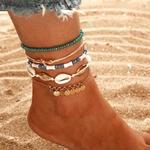 Bracelet cheville plage