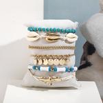 Bracelet de cheville coquillage