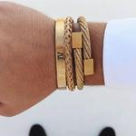 Bracelet or homme