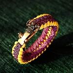 bracelet tête dragon homme (1)