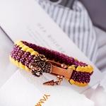 Bracelet vintage samourai