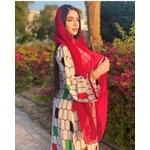 Robe blanche arabe