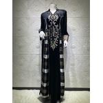 Robe arabe en velours