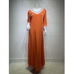 Robe arabe orange