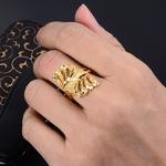 Wando-anneau-de-couleur-or-pour-femmes-et-adolescents-bijoux-de-mariage-bateau-de-plaisance-style