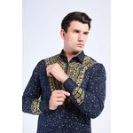Chemise à motifs homme