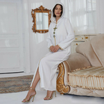 Djellaba blanche femme