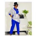 pantalon et haut africain femme