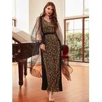 robe jacquard femme