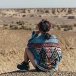 Veste jean amérindienne