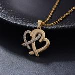 Collier-dor-thiopien-24K-pendentif-en-forme-de-c-ur-style-Dubai-45cm-pendentif-pour-femmes