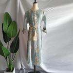 Robe fleurs lys
