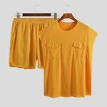 t shirt short latino homme