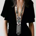Nouveau-collier-Boho-pierre-naturelle-pendentif-pour-femmes-70cm-cha-ne-boh-me-collier-Bijoux-Mode