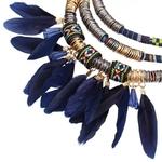 Nouveau-boh-me-colliers-pendentifs-pour-femmes-Boho-multicouche-plume-gland-colliers-Bijoux-accessoires-cadeau-Bijoux