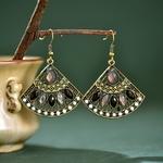 R-tro-secteur-turc-cristal-indien-Jhumka-boucles-d-oreilles-femmes-Vintage-boh-me-Boho-perles
