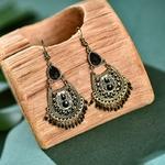 Ethnique-r-tro-vert-perles-gland-boucles-d-oreilles-pour-les-femmes-2020-gitane-Jhumka-indien