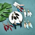 Boucles-d-oreilles-ethniques-pendantes-pour-femmes-bijou-boh-me-en-m-tal-Long-pompon-bijoux