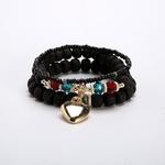 Bracelet-multicouches-Boho-rose-blanc-pendentif-coeur-en-or-breloques-pour-Bracelets-ethniques-femmes-tib-taines