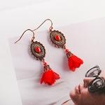 Boucles-d-oreilles-rouges-pour-femmes-Vintage-fleurs-style-Boho-r-tro-2019-boucles-d-oreilles