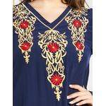 Mode-musulmane-Robe-de-dinde-Abaya-Dubai-caftan-Hijab-robes-pour-femmes-Robe-Longue-Femme-Musulmans