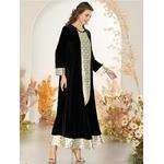 Robe-longue-pour-femmes-mode-musulmane-turquie-Abaya-duba-Caftan-indien-noir-Hijab-grande-taille