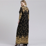 Grande-taille-musulmane-Maxi-robe-femmes-manches-longues-islamique-marocain-caftan-turquie-arabe-modeste-en-vrac