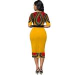 2020-dames-mode-demi-manches-robe-femmes-l-gant-col-rond-g-om-trique-imprim-Patchwork