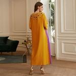 Eid-moubarak-Robe-Satin-Musulman-Abaya-duba-turquie-Hijab-Robe-Femme-Islam-Musulman-De-Mode-robes