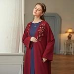 Abaya-Robe-musulmane-pour-femmes-Kimono-Hijab-diamant-Caftan-marocain-Islam