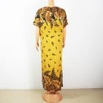 Robe-africaine-moderne-pour-femmes-2020-coton-imprim-Floral-Maxi-avec-foulard-la-mode-100