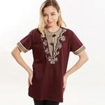 T-shirt-brod-sur-mesure-pour-femmes-chemise-musulmane-unisexe-Dashiki-v-tements-islamiques-robes-africaines