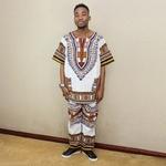 Chemise-et-pantalon-unisexe-en-coton-deux-couleurs-blanc-vert-Dashiki-d-contract-v-tements-africains