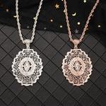 Collier-avec-pendentif-long-de-style-marocain-pour-femmes-Bijoux-de-mariage-national-Caftan-vente-en