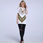T-shirt-Dashiki-imprim-africain-nouveau-Design-la-mode-chemises-unisexes-Hipster-col-rond-Tops-Cool
