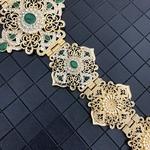 Remise-marocaine-Robe-Holloway-pour-les-femmes-Robe-de-mari-e-bijoux-de-corps-or-cha