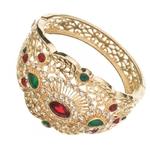 Nouveau-Design-de-Bracelet-de-Style-marocain-bijoux-de-mariage-en-m-tal-strass-Bracelet