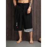 Pantalon traditionnel Japonais pantacourt  yukata