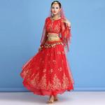 Costume de danse hindou orientale