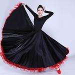 Jupe flamenco noir