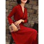 Robe rouge vintage