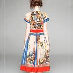 Robe vintage année 40