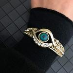 Nouveau-Vintage-creux-fleur-Bracelet-indien-manchette-Bracelet-marocain-traditionnel-mariage-bijoux-belle-mari-e-Bracelet